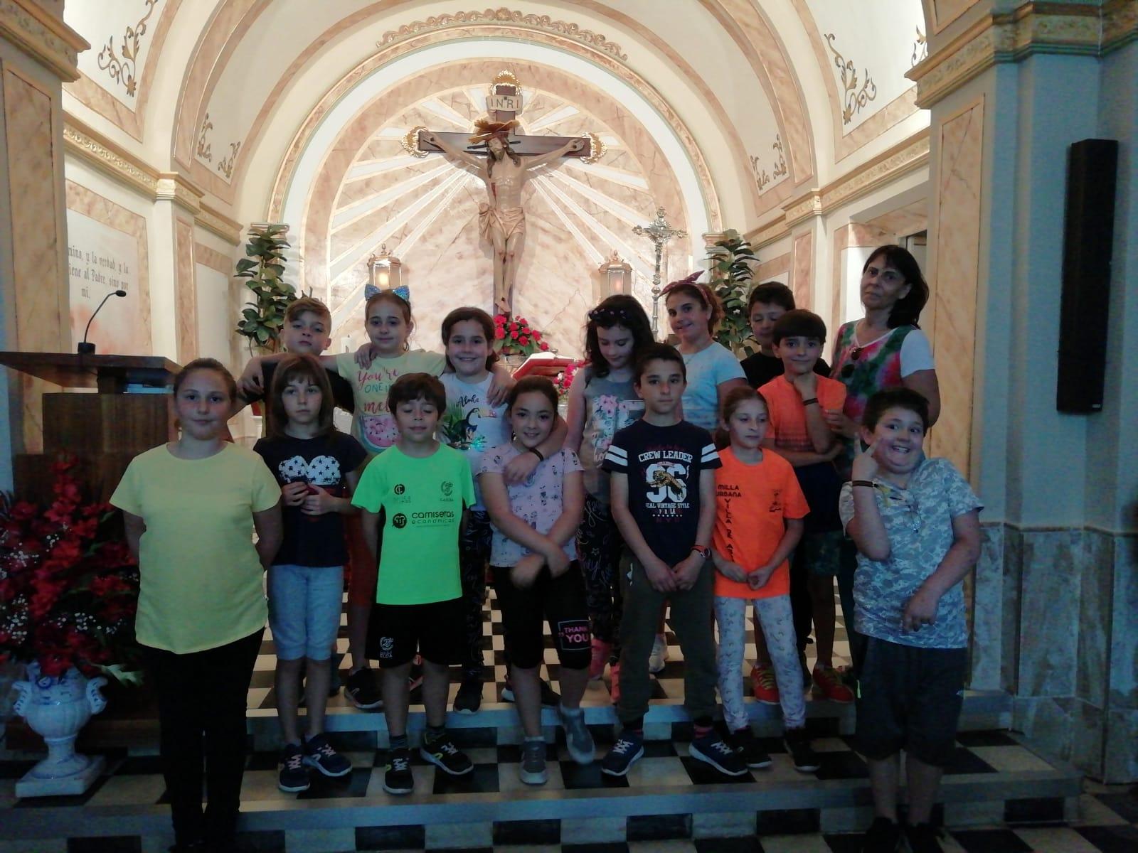 (2019-05-29) Visita alumnos Laura - 3 B primaria - Reina Sofia - Isabel B (08)