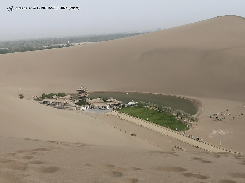 2019 China Dunhuang Mount Mingshashan and Crescent Moon-shaped Spring Geo-1