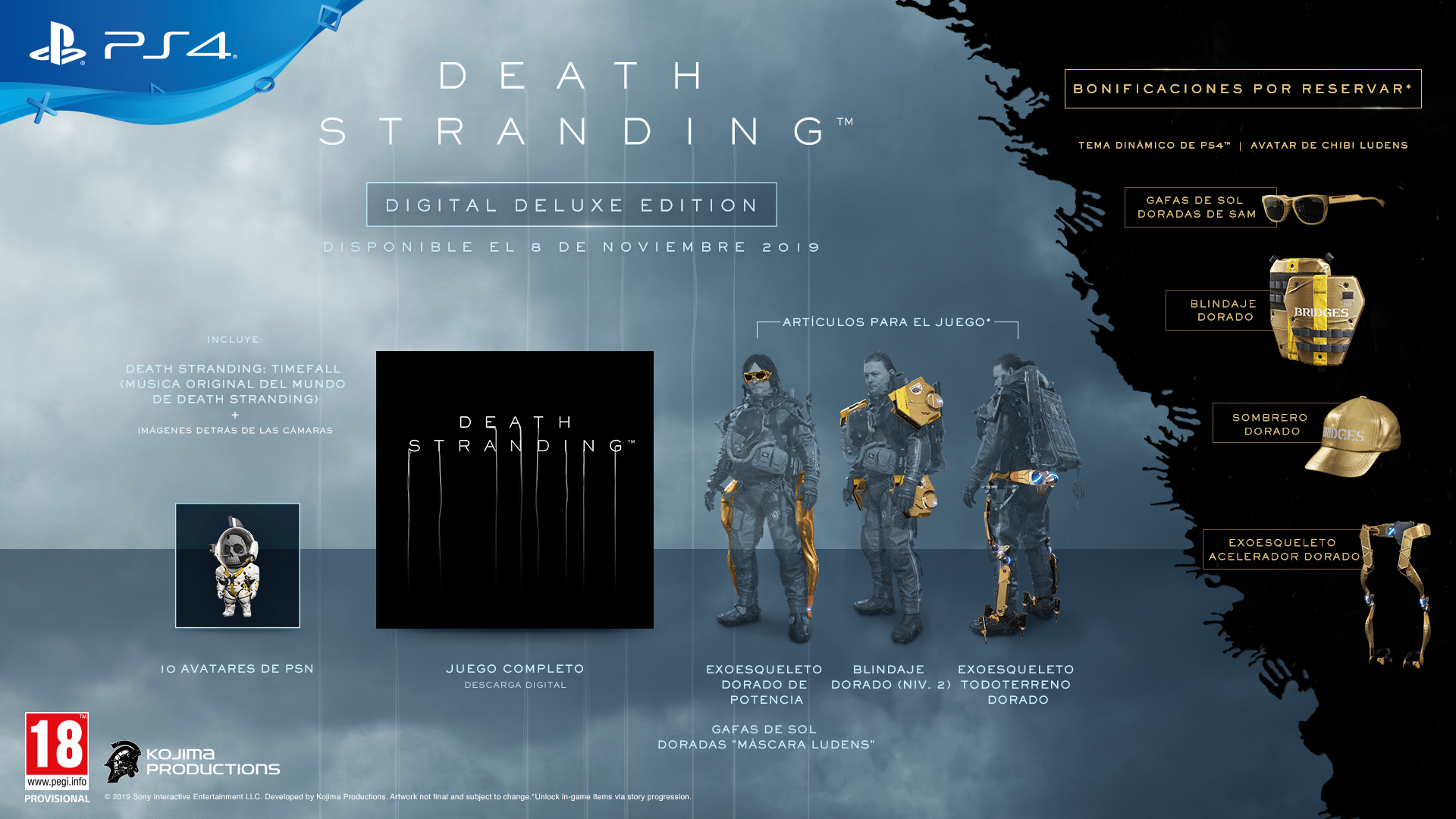 Resultado de imagen de death stranding Digital Deluxe Edition
