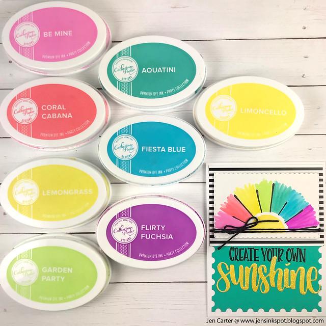 Scatter Sunshine Sunshine Word Jen Carter Color 1