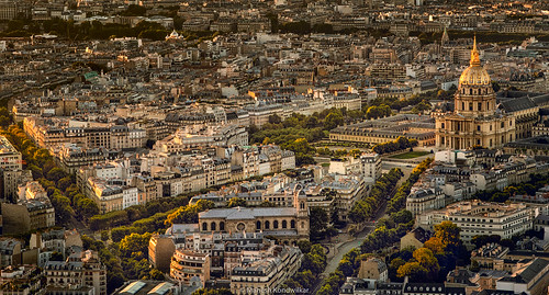 dome goldenhour hdr lesinvalides montparnassetower paris sun sunset goldenlight 1eurhdr typescenic france