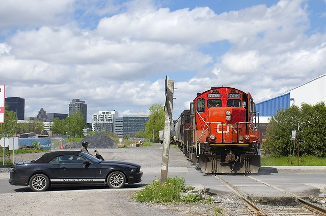 A Mustang and a GP9