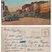 Postcard - DeKalb - Lincoln Hwy - 1949