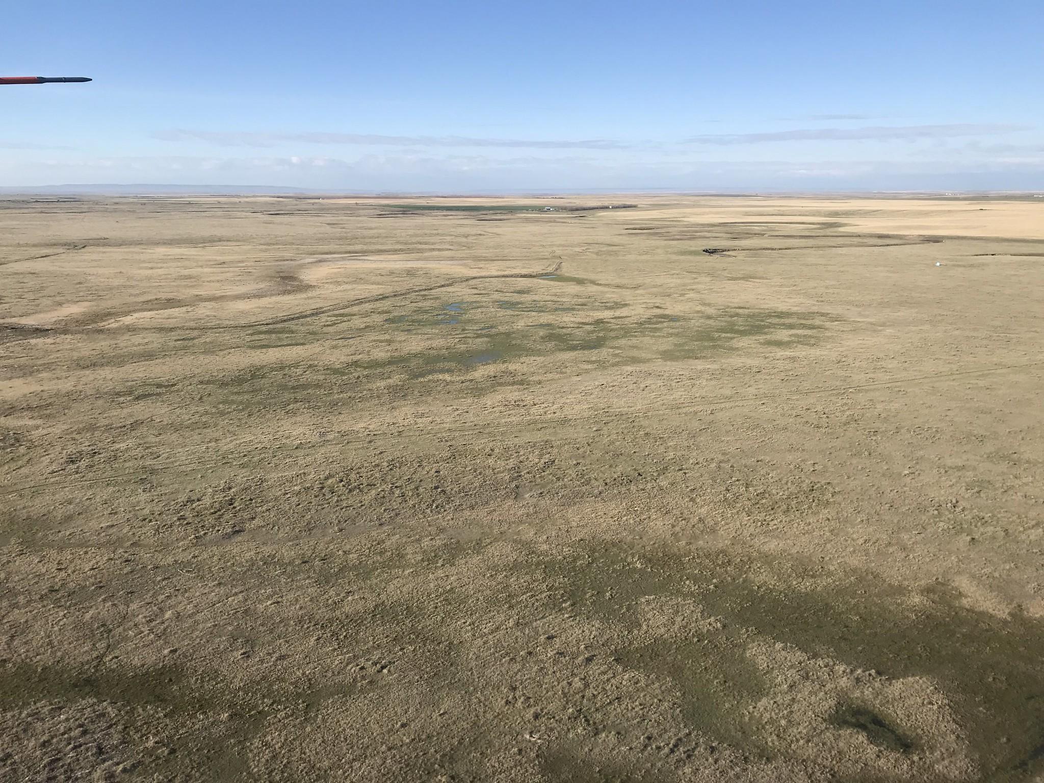 What prairie wetlands use to look like, USFWS