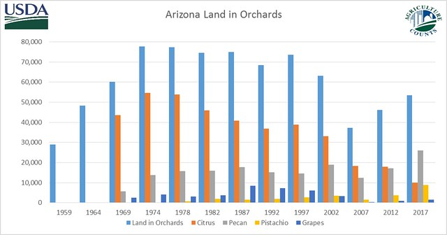 Arizona Land in Orchards graphic