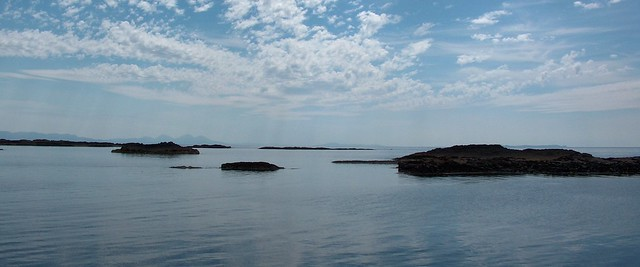 The Western Isles, from Sanna, Highlands, Scotland.