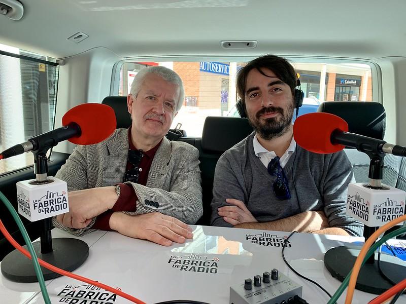 Foto 2019 05 29 Todo ira Bien con Francisco Godinez y Gorka Zumeta La Fabrica de Radio