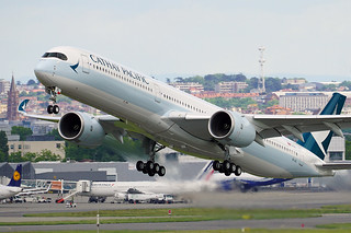 Airbus A350-1041 - Cathay Pacific