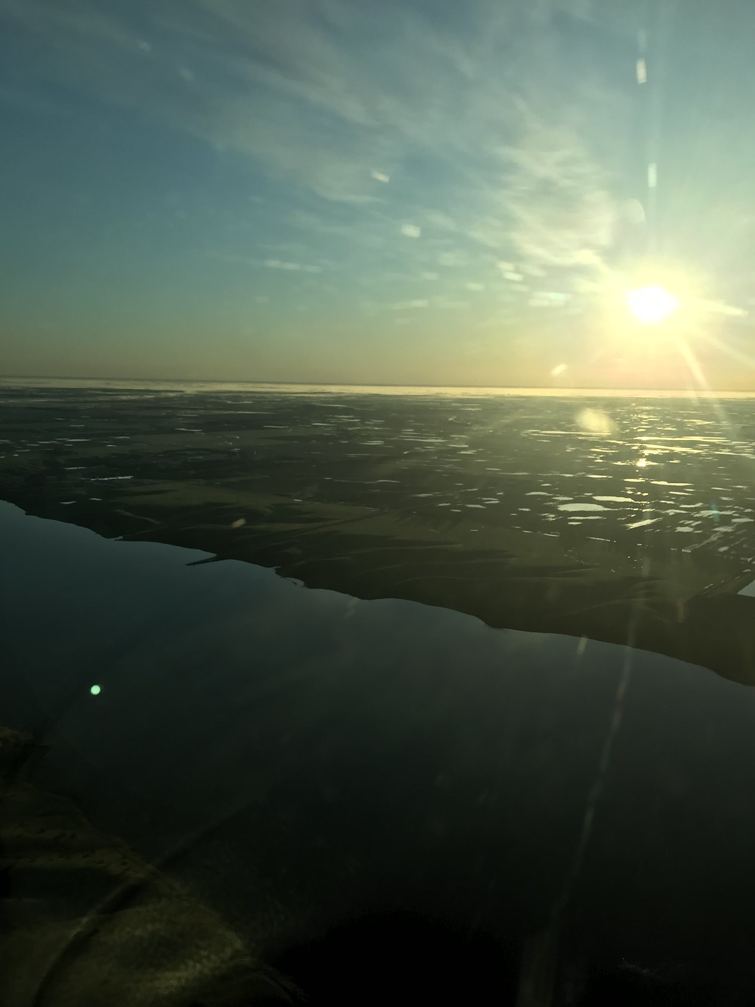 Morning along the James River, central SD. USFWS