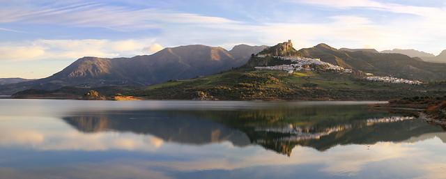The breathtaking view of Zahara de La Sierra