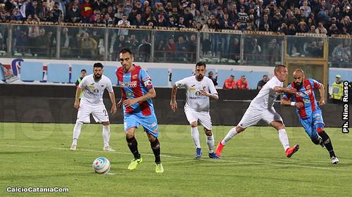"""Catania-Trapani 2-2: magie di Tulli e Lodi, giusto pari al """"Massimino""""$"""