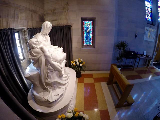 Michelangelo Pietà Replica at St. Ann DC