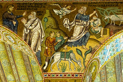 Fri, 09/16/2016 - 14:46 - Sacrafice of Isaac - Palantine Chapel, Palermo, Sicily 16/09/2016