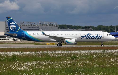 A321 253n Alaska Airlines D Azax N929va Msn 8819