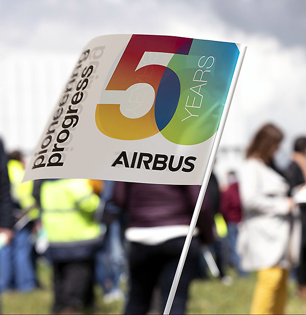 Airbus 50 años pioneering and progress (Airbus)
