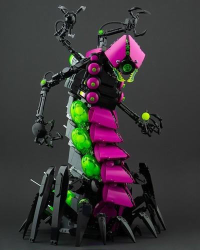 Centipede - Plague Mech: Omicron