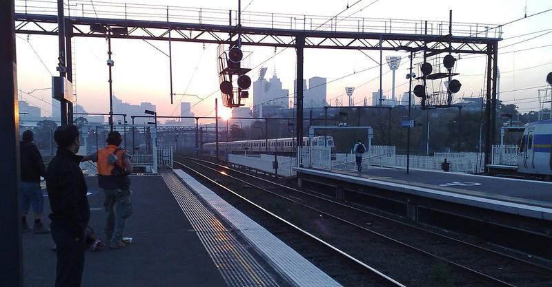 Richmond station, May 2009