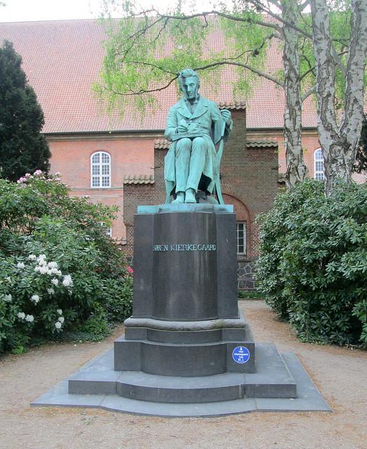 Statue of Soren Kierkegaard, Copenhagen