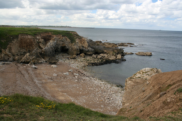 The coast at South Shields