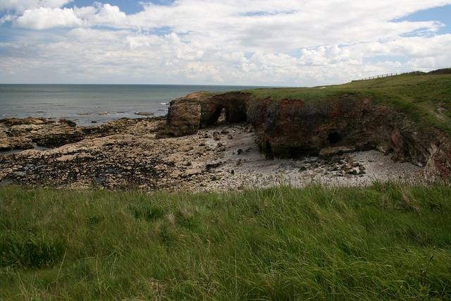 The coast at Whitburn
