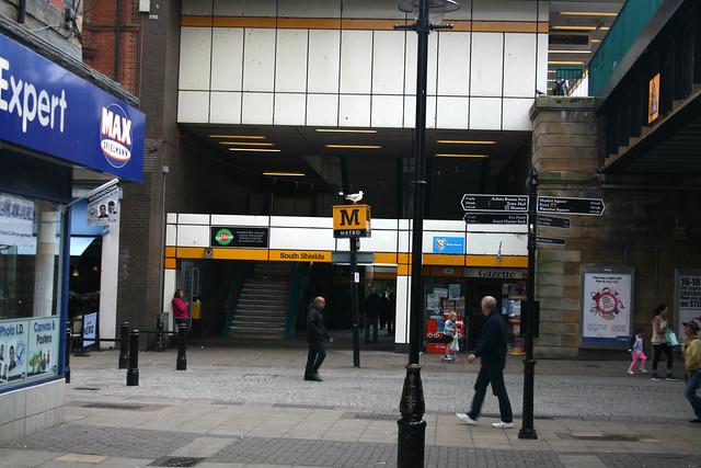 South Shields metro station
