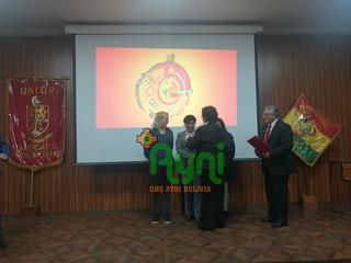 Premio Orgullo Orureño 2019