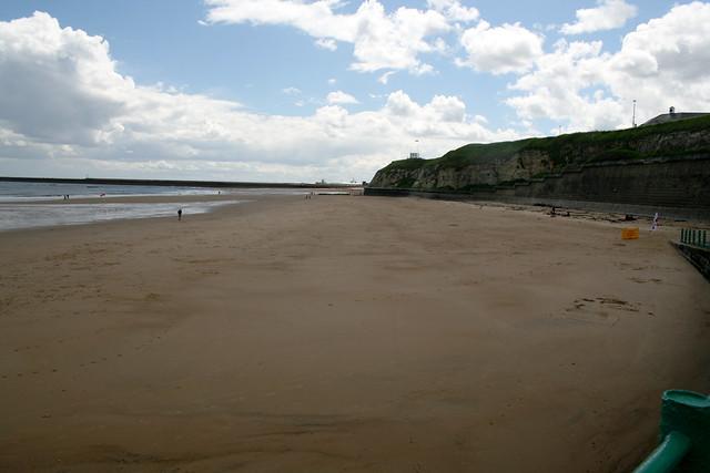 The beach at Roker