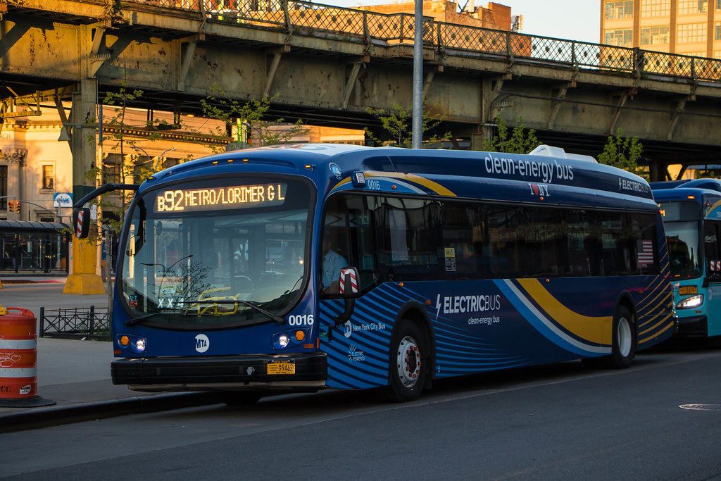 MTA New York City Bus 2017-2018 Proterra Catalyst E2 Battery-Electric 0016