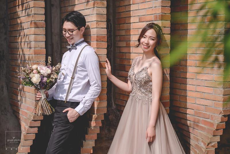 婚紗拍攝|台北婚紗|繡球花|美軍宿舍