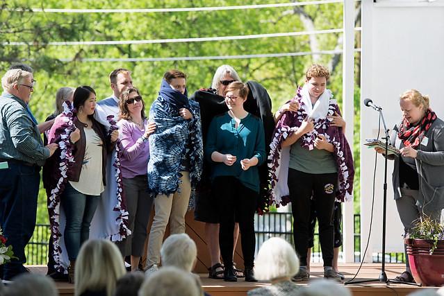 Sophia - Blanket ceremony at CLC