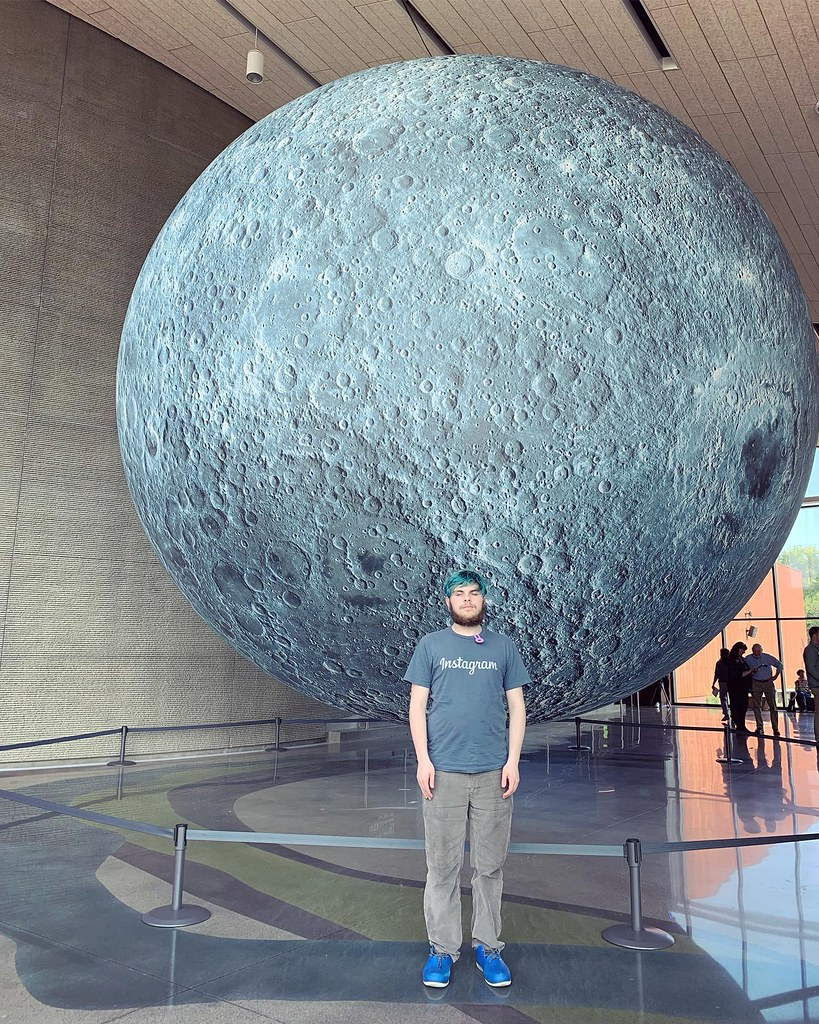 Bell Museum Moon Exhibit