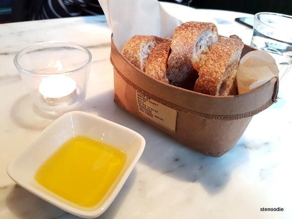Sud Forno bread and olive oil