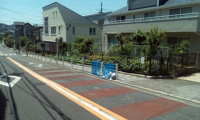 Trash on the street to be transported, Tokyo