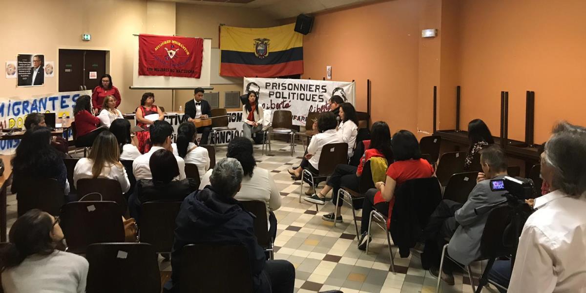 """Asociación """"Mujeres Migrantes y Revolucionarias"""" de Francia expresan respaldo a la Revolución Bolivariana"""