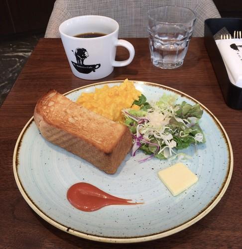 俺のコーヒー ベーカリー モーニング 恵比寿ガーデンプレイス 2019/5/25