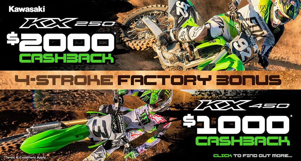 4-Stroke Factory Bonus