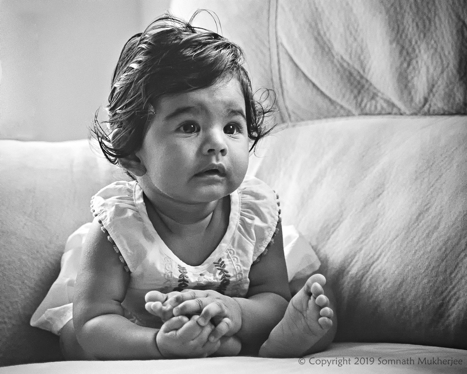 Anahita on her 8 months | Denver, CO | May 2019 by Somnath Mukherjee Photoghaphy