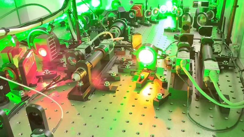 Laser system in LAPLACIAN platform, SPring-8