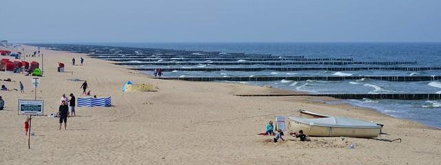 Koserow - Beach and Groynes