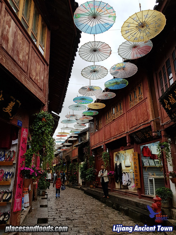smart holidays lijiang ancient town umbrella
