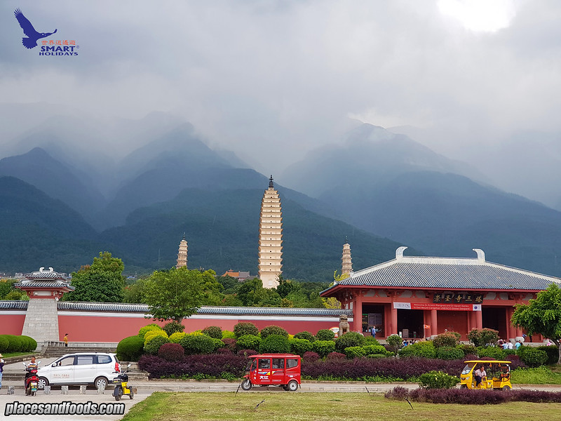 china dali 3 pagoda