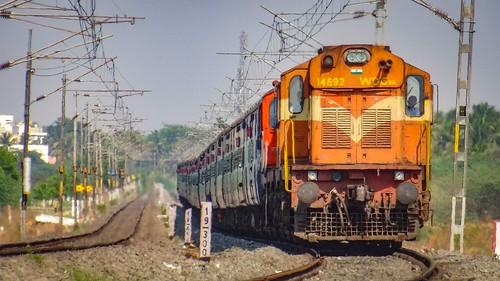 Guntakal Twin with Mangaluru Chennai Egmore Express !