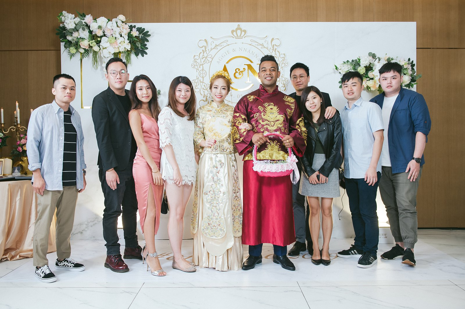【婚攝】Aggie & Nnanna / 台北凱達大飯店 / 長老教會艋舺教會