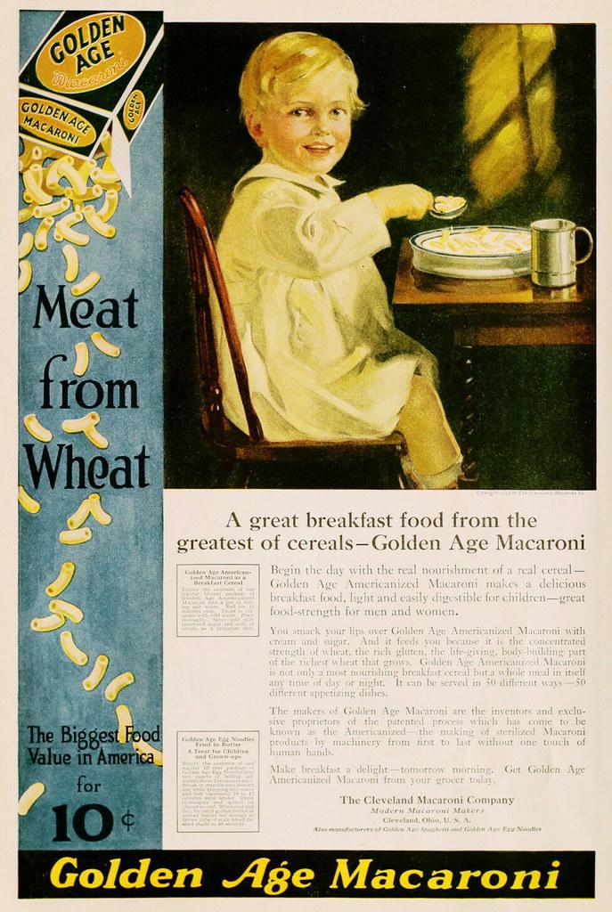 Golden Age Macaroni 1919