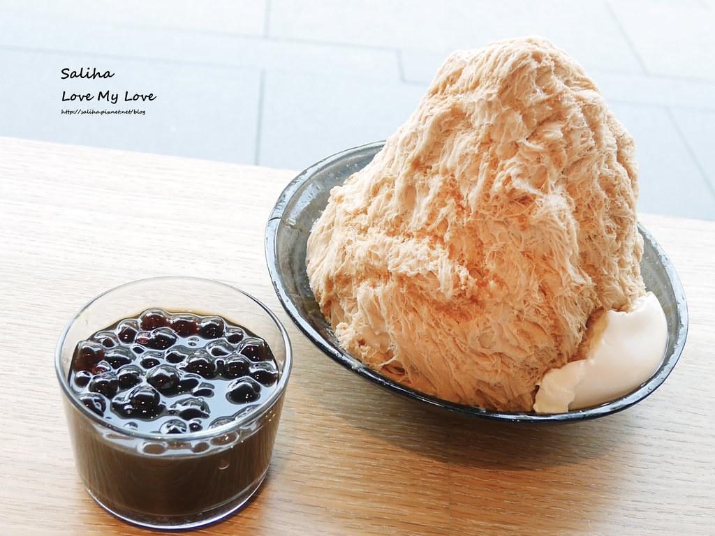 台北永康街好吃珍珠奶茶綿綿冰ICE MONSTER冰店 (1)