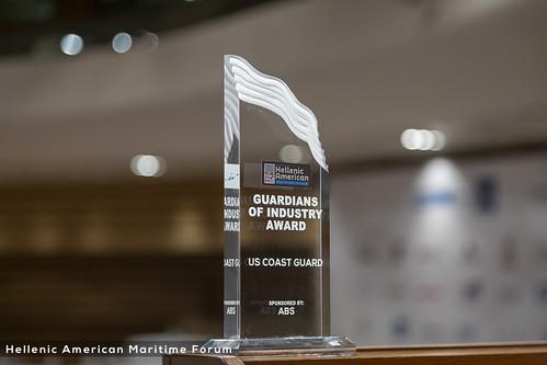 The winners of inaugural Hellenic American Maritime Awards