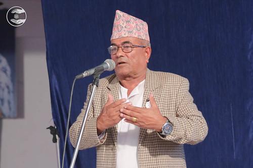 Hem Bahadur Kesu from Shangja, expresses his views