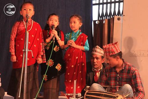 Devotional song by Bal Sangat Pokhara