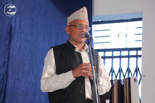 Tilak Kesu from Shangja, expresses his views