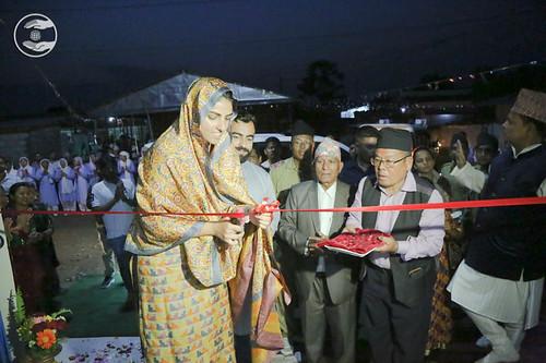 Inauguration Newly Constructed Satsang Bhawan
